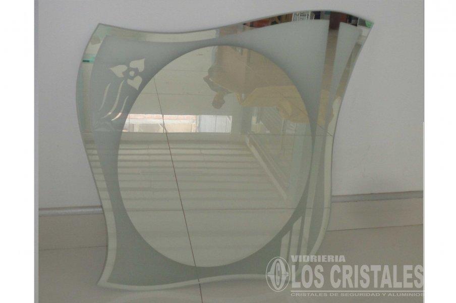 Espejo arenado con dise o vidrieria los cristales e i r l - Espejos con diseno ...