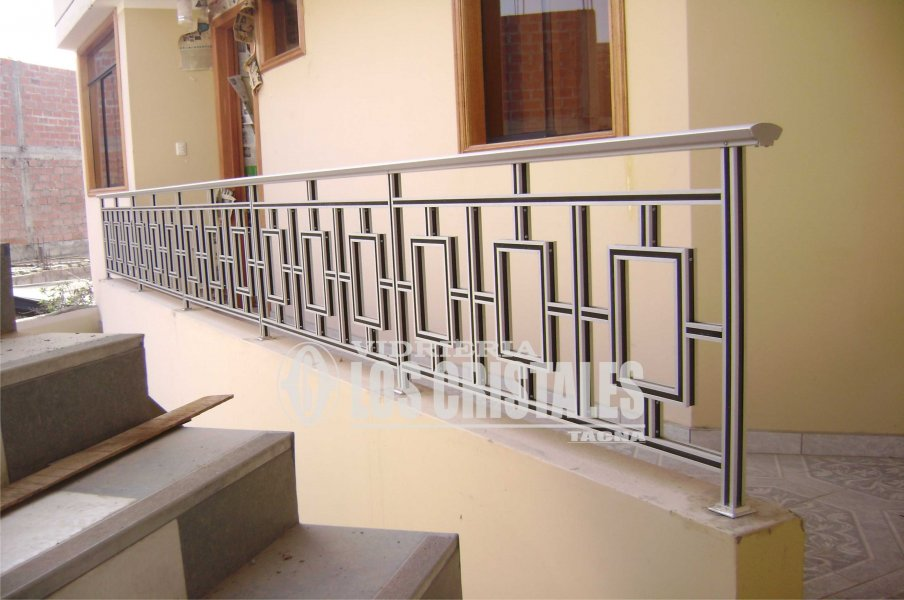 Balcon De Aluminio Vidrieria Los Cristales Eirl - Balcones-aluminio